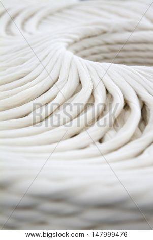Cotton Spinning Machine. intermediate detail spinning stage