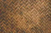 straw background, basket weave texture. wood texture poster