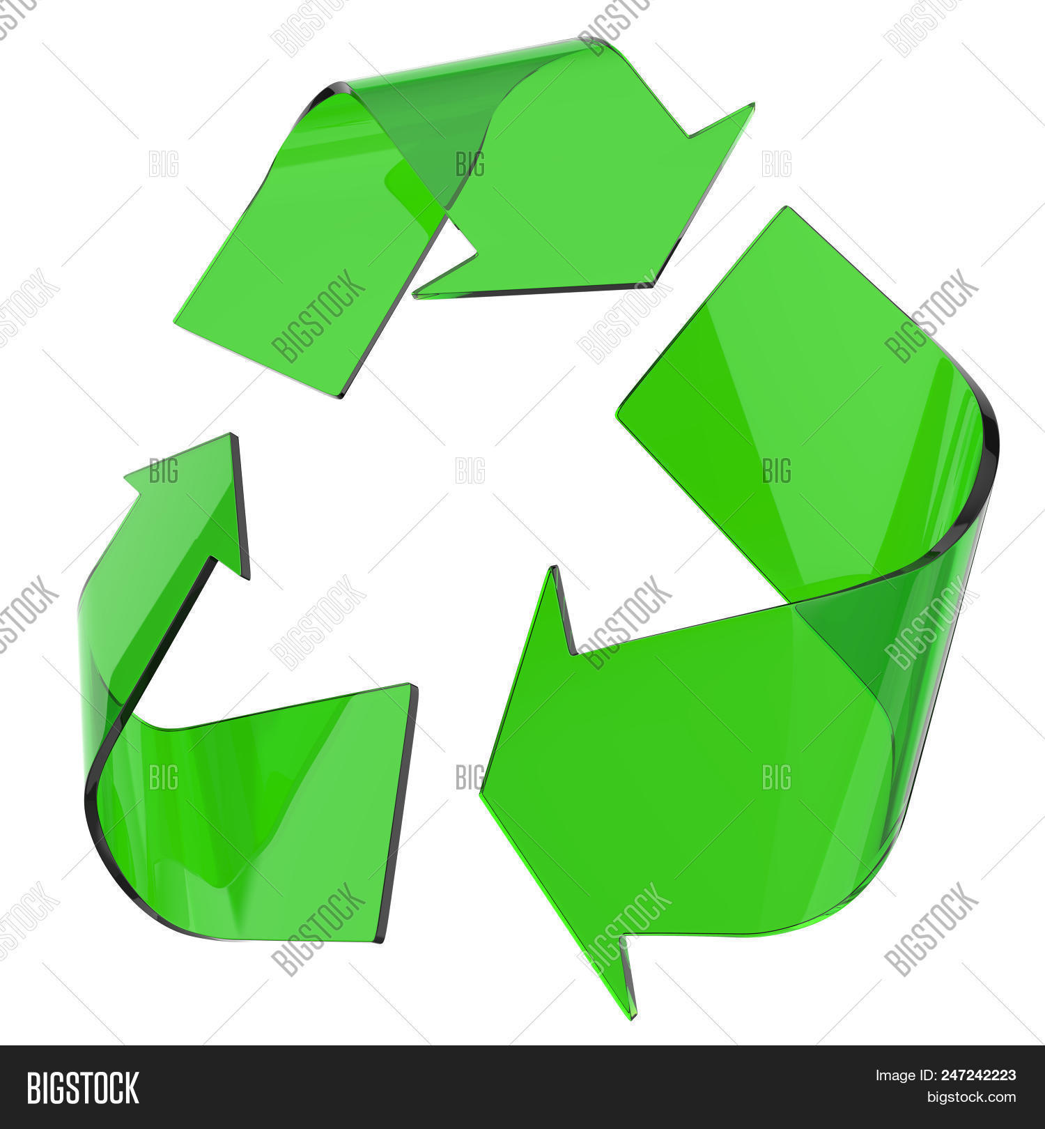 Green Glass Recycling Image Photo Free Trial Bigstock
