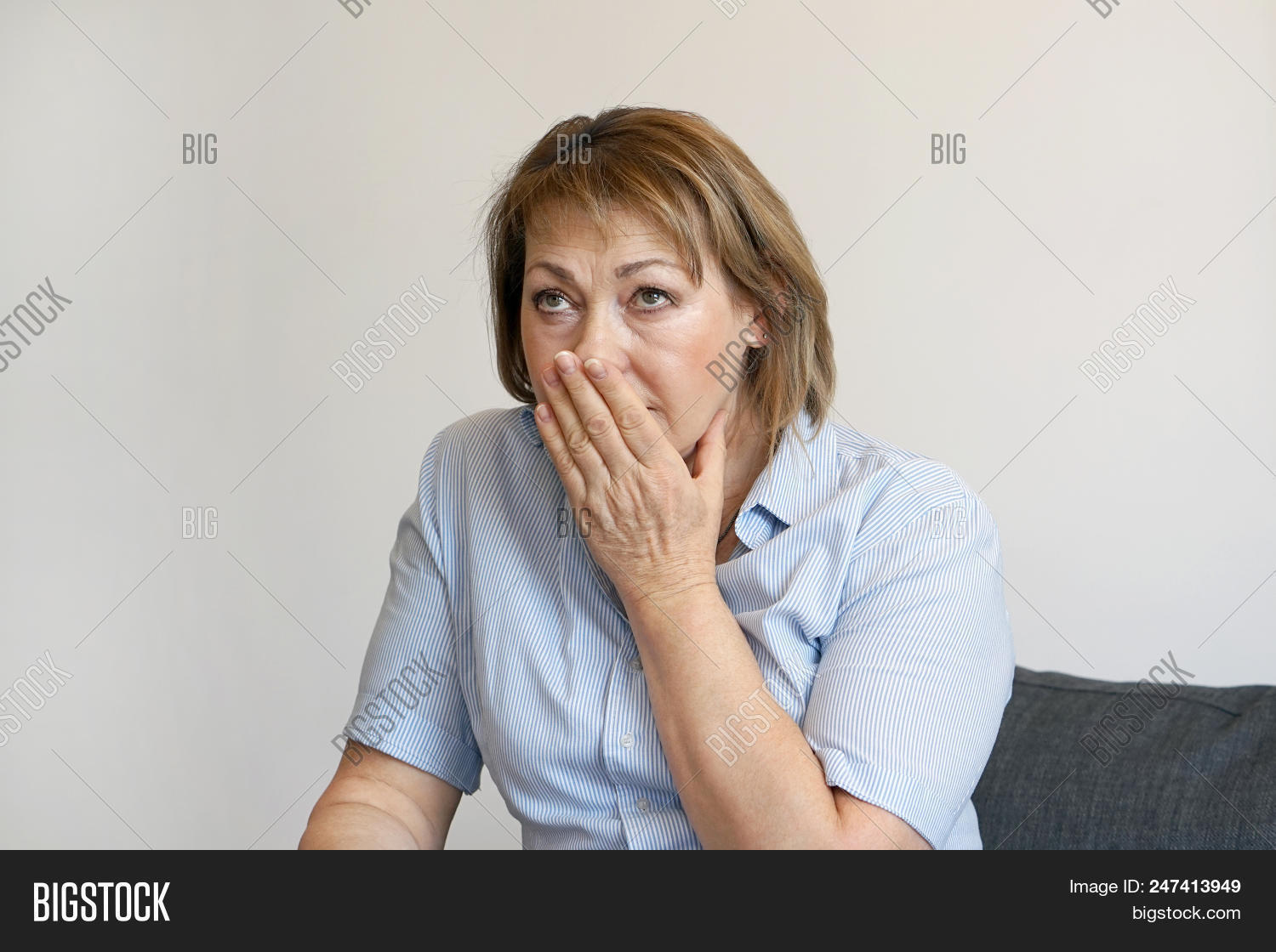 Lonely Elderly Woman, Image & Photo (Free Trial) | Bigstock