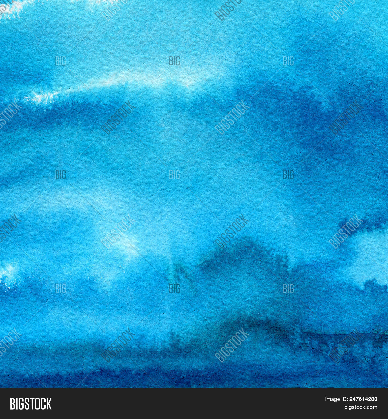 Unduh 6500 Background Blue Watercolor HD Terbaru