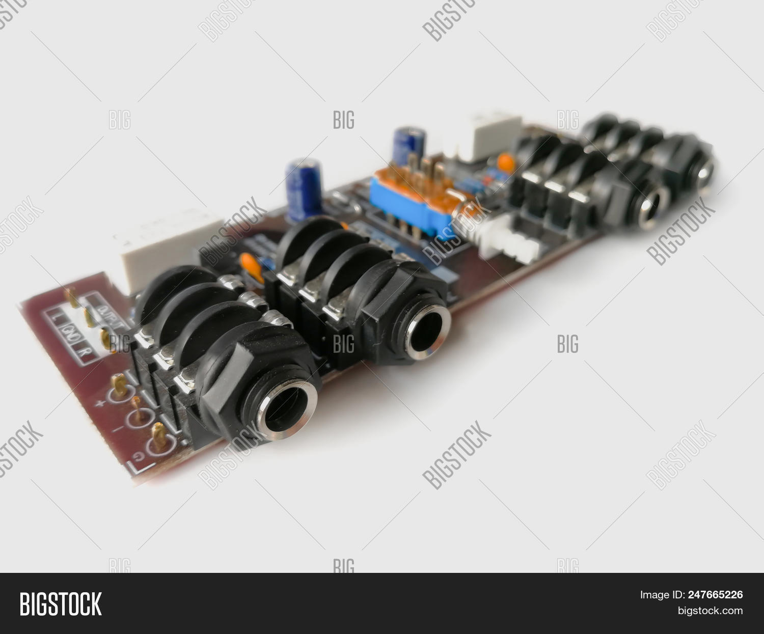 Electronic Device Image Photo Free Trial Bigstock Printed Circuit Board With Many Electrical Components Stock Pcb Isolated On White Background