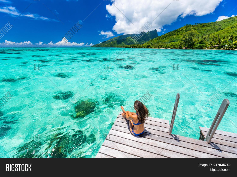 Bora Bora Luxury Image Photo Free Trial Bigstock