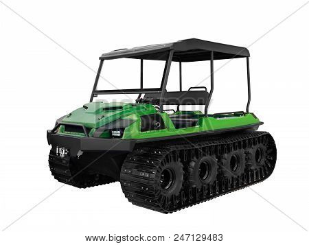 All-terrain Vehicle For Hunters And Fishermen And For Checking The Main Gas Pipelines Of Oil Pipelin