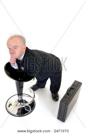 Troubled Little Businessman