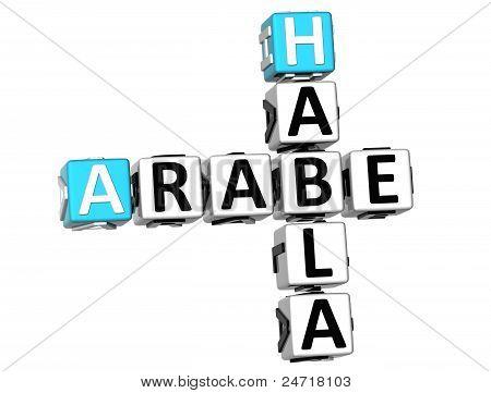 3D Habla Arabe Crossword