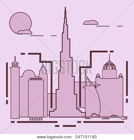 Building And Skyscrapers. City View. Architecture. Travel And Leisure.
