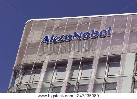 Akzo Nobel Building In Amsterdam