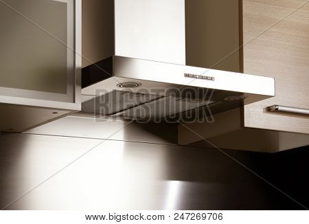 an image of aspirator in modern kitchen