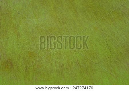 Green Texture Of A Piece Of Wooden Plaited Board