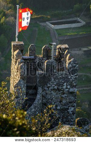 Long Shot Of Castle Merlon As Viewpoint