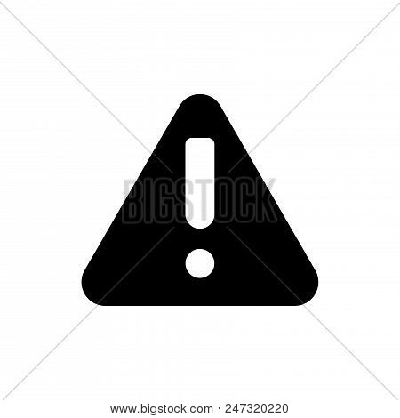 Attention Vector Icon Flat Style Illustration For Web, Mobile, Logo, Application And Graphic Design.