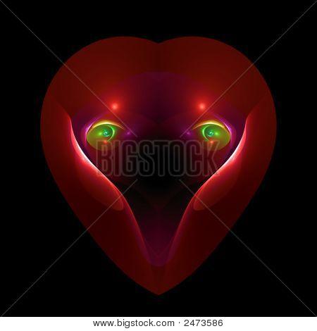 Eyes Of Love In A Heart