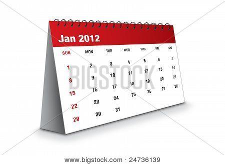 January 2012 - Calendar series