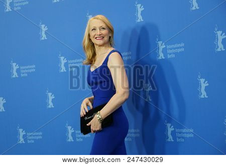Patricia Clarkson poses at the 'The Bookshop' photo call during the 68th Berlinale International Film Festival Berlin at Grand Hyatt Hotel on February 16, 2018 in Berlin, Germany.
