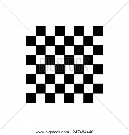 Chess Board Vector Icon Flat Style Illustration For Web, Mobile, Logo, Application And Graphic Desig