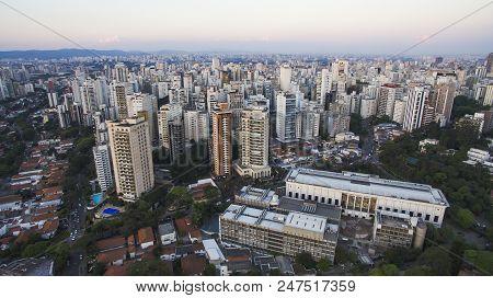 Pacaembu Neighborhood, Sao Paulo Brazil, South America