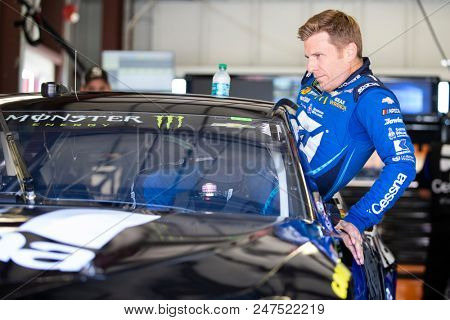 June 22, 2018 - Sonoma, California , USA: Jamie McMurray (1) gets ready to take to the track to practice for the TOYOTA/SAVE MART 350 at Sonoma Raceway