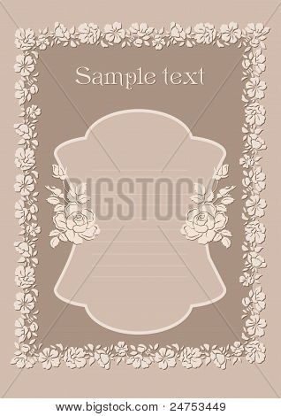 Cute Wedding Invitation Card