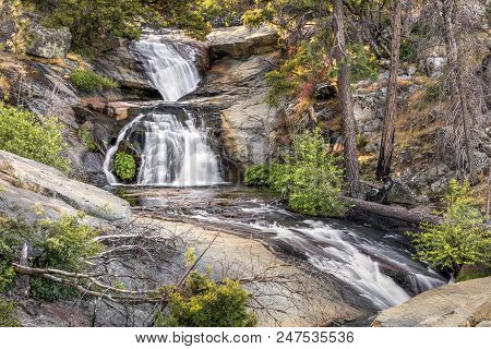 Foresta Falls Is An Overlooked Series Of Cascading Waterfalls On Crane Creek Near Foresta In Yosemit