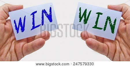 Win - Win Concept For Marketing And Business Negotiation