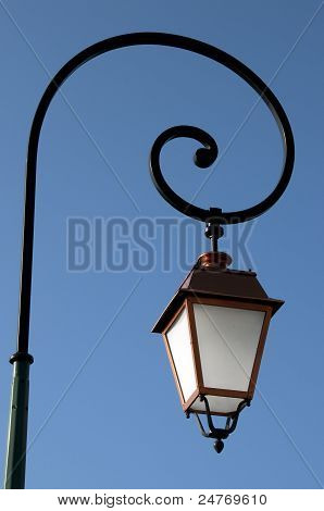Copper Old Lamppost