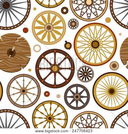 Carriage Vector Vintage Transport Old Wheels And Antique Transportation Illustration Set Of Royal Co