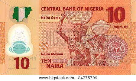 10 Naira Banknote