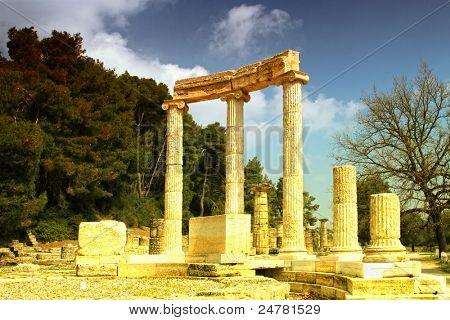 Olimpia, cuna de los Juegos Olímpicos de Grecia