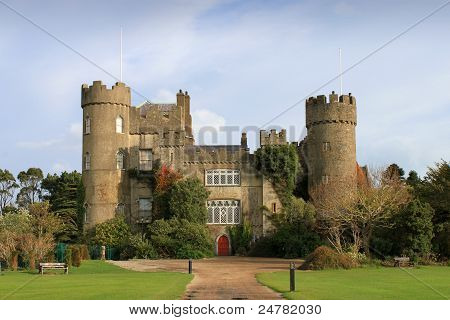 Malahide Castle, County Dublin.