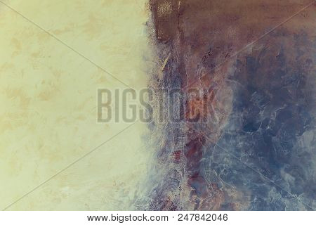 Creative Abstract Painted Background, Marble Texture, Wallpape, Texture, Acrylic Paint On The Wall.