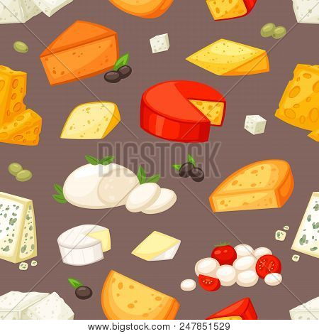 Cheese Vector Cheesy Food And Dairy Products With Cheeseparing Illustration Set Of Swiss Appetizer M