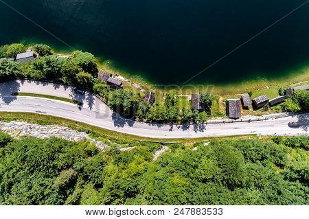 Small Lake In High Alps Austria