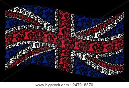 Waving British Vector Photo Free Trial Bigstock