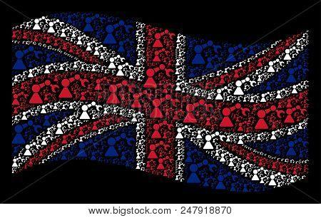 Waving British Vector Photo Free Trial Bigstock