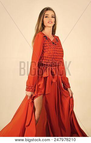 Fashion Model. Fashion And Beauty, Look, Sexy Girl. Woman In Stylish Dress, Glamour, Elegance. Fashi