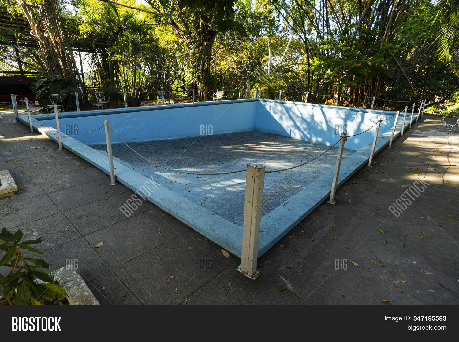 Old Abandoned Blue Image Photo Free Trial Bigstock
