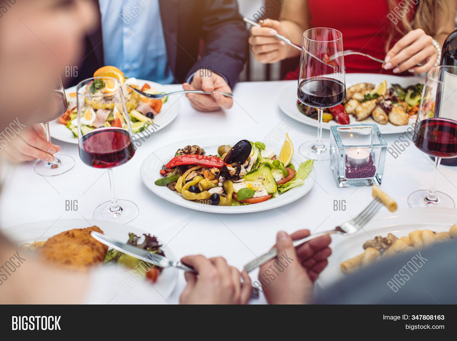 Four Friends Eating Image Photo Free Trial Bigstock