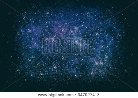 Stars And Galaxies In Outer Space Showing The Beauty Of Space Exploration.