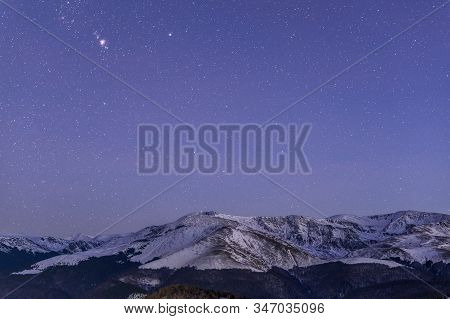 Astro Photography On The Tarcu Mountains In Romania.