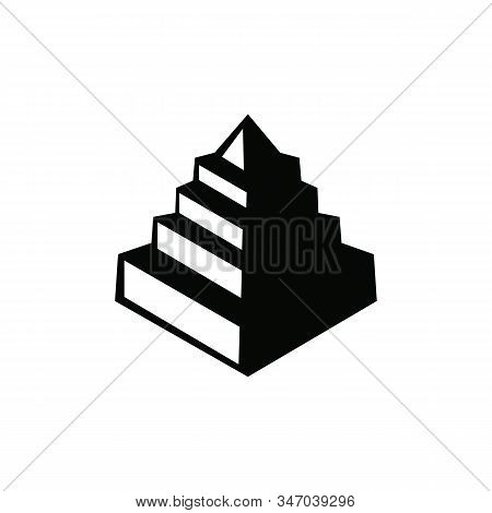 Pyramids Vector Icon On White Background. Pyramids Icon In Modern Design Style. Pyramids Vector Icon