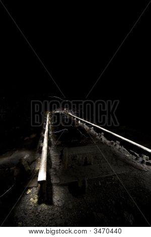 Creative Lighting Of Old Rails