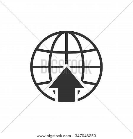 Nternet Icon Isolated On White Background. Internet Icon Simple Sign. Internet Icon Trendy And Moder
