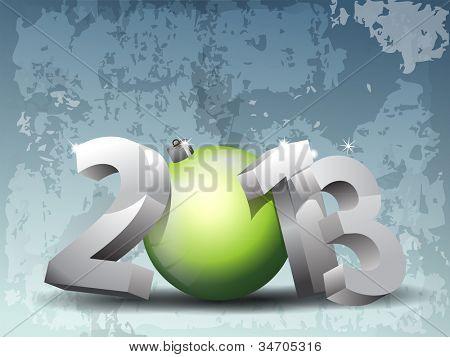 3D text stylem 2012