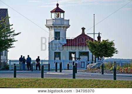 Mulkiteo Light House In Washington State