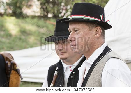 Budapest, Hungary - August 19, 2017: Traditional Folk Fair In Honor Of Saint Istvn And The First Bre