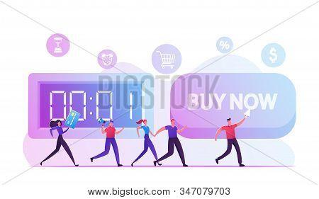 Buy Now Concept. Alert Advertising Campaign, Propaganda Speech, Pr Social Media Promotion, Online Pu