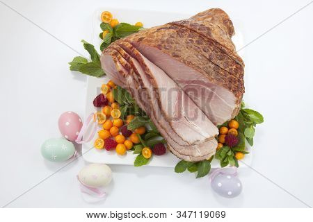 Easter Roasted Sliced Ham