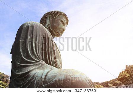 The Great Buddha statue, Kotoku-in temple, Kamakura, Japan