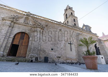 The Basilica And The Monastery Of San Francisco De Asis Or Saint Francis Of Assisi In San Francisco